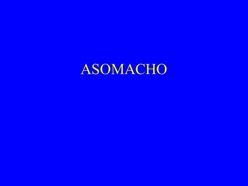 ASOMACHO