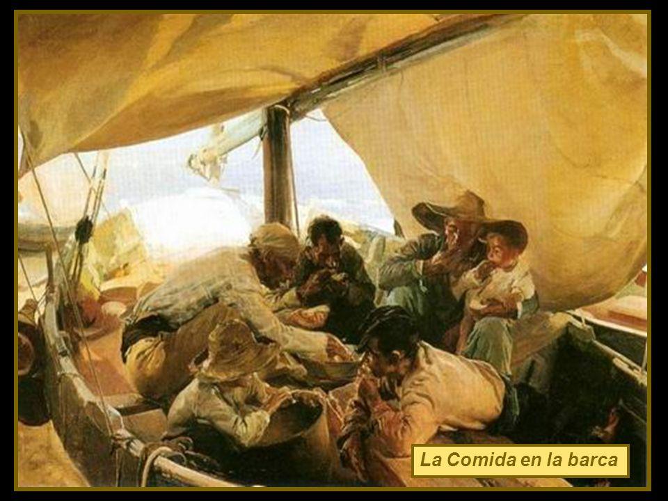 La Comida en la barca