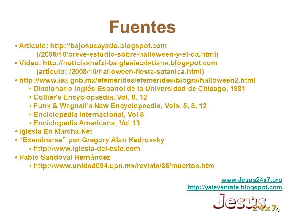 Fuentes Artículo: http://bajosucayado.blogspot.com