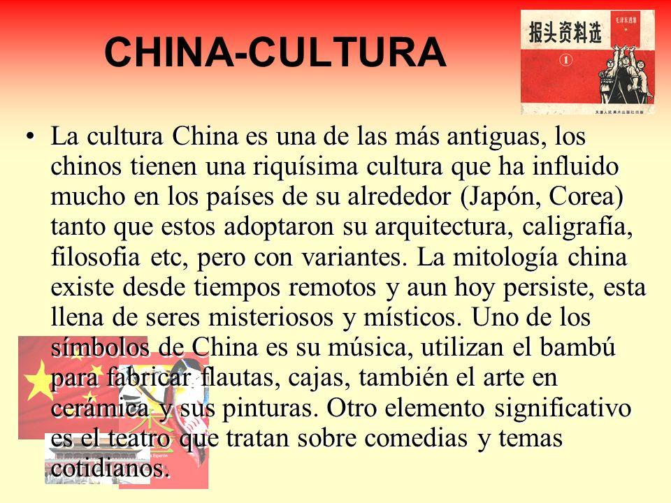 CHINA-CULTURA