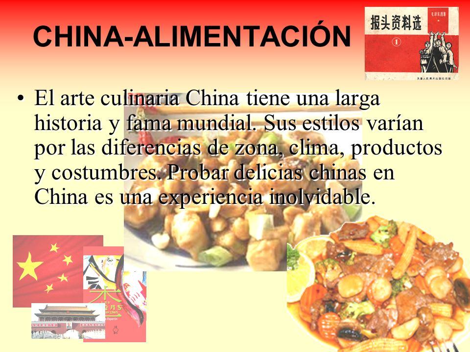 CHINA-ALIMENTACIÓN
