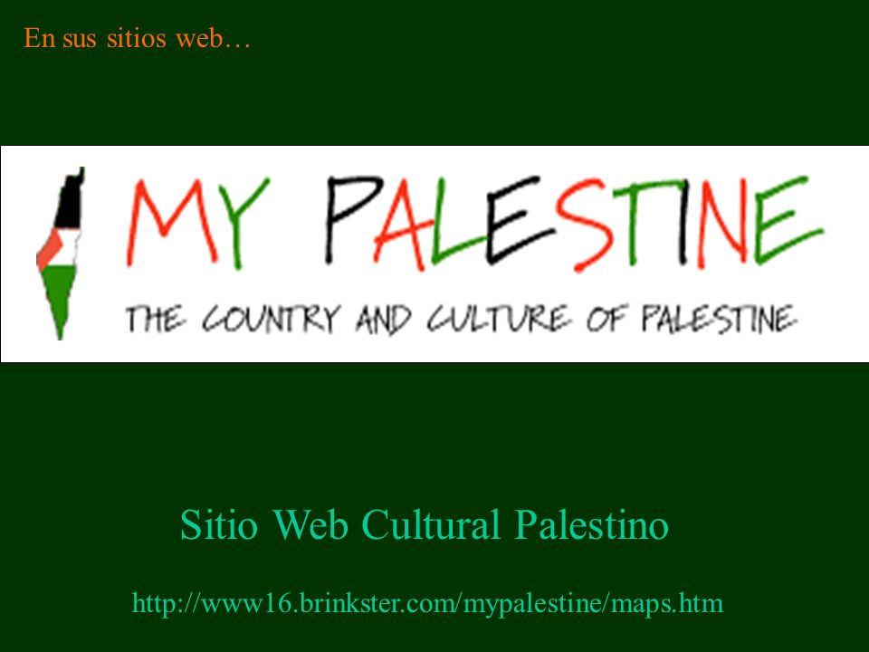 Sitio Web Cultural Palestino