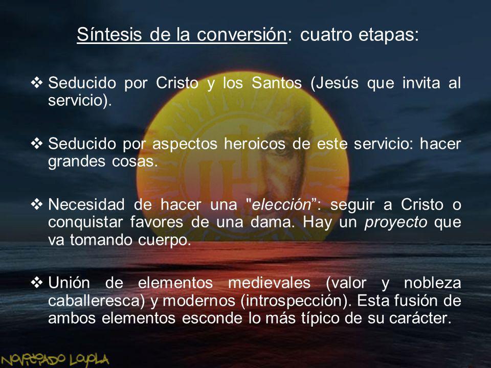 Síntesis de la conversión: cuatro etapas: