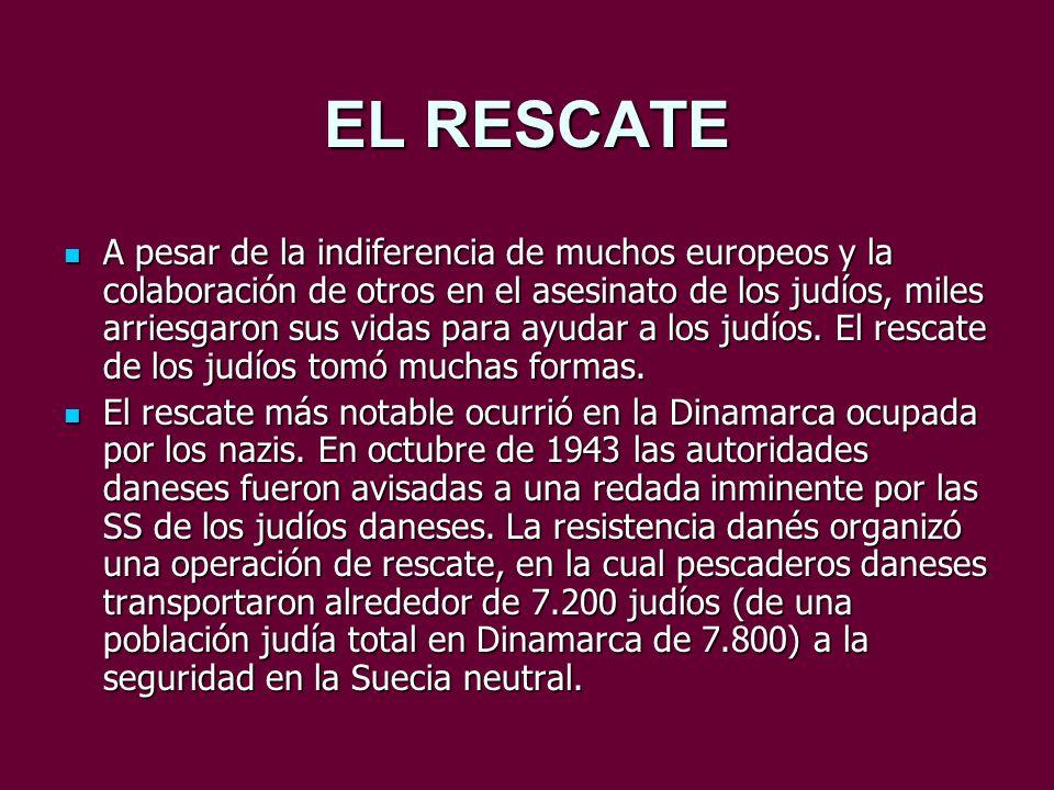 EL RESCATE
