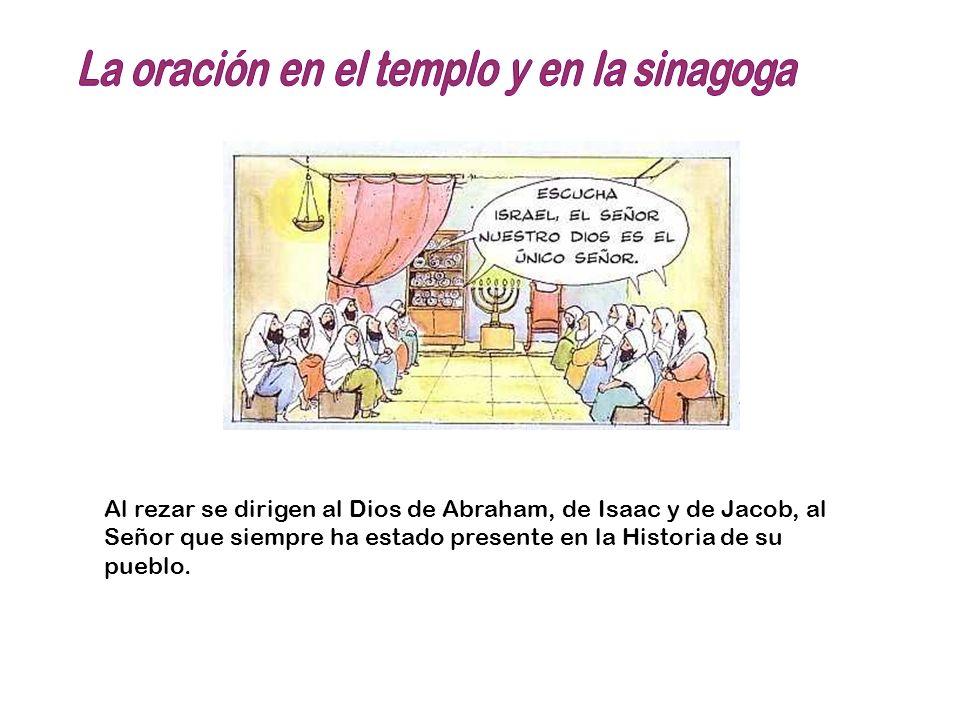 La oración en el templo y en la sinagoga