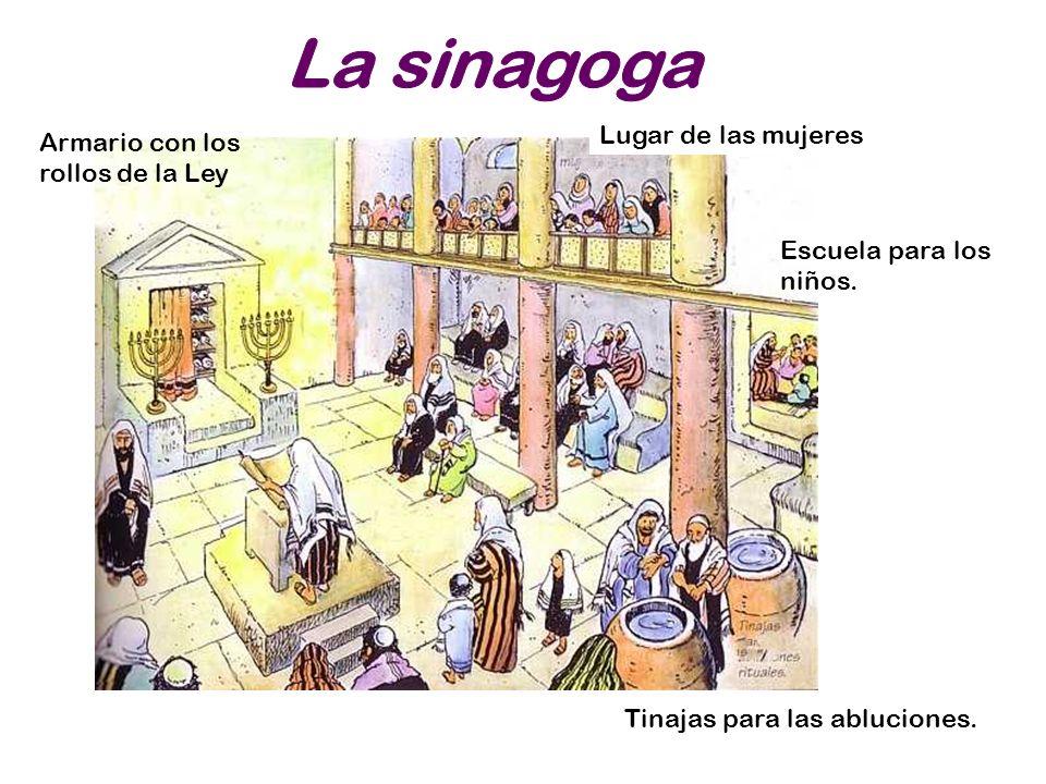La sinagoga Lugar de las mujeres Armario con los rollos de la Ley