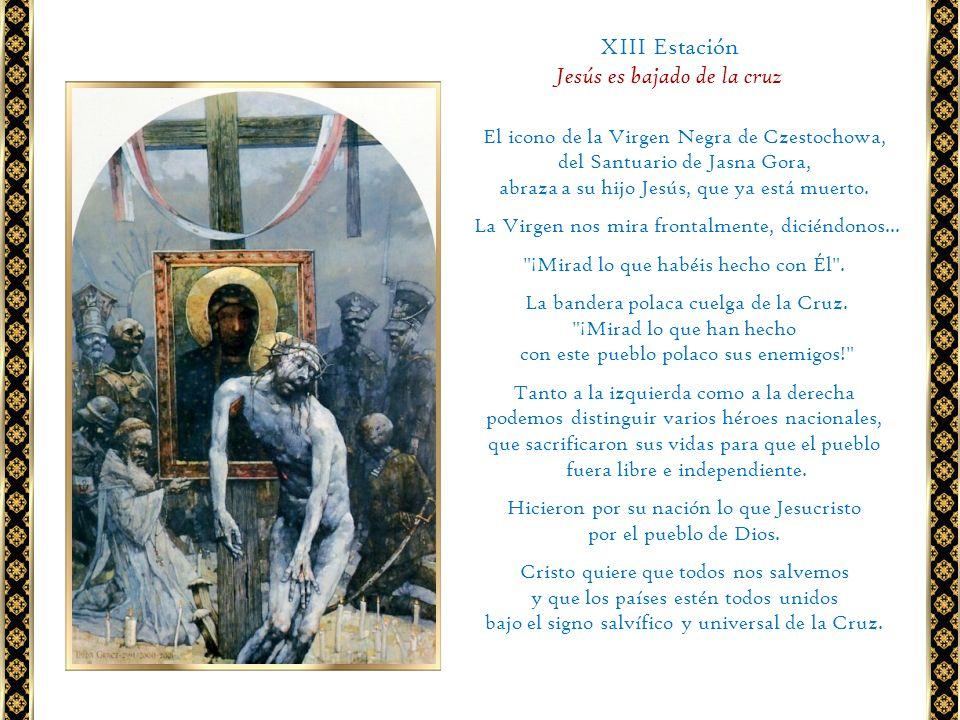 Jesús es bajado de la cruz