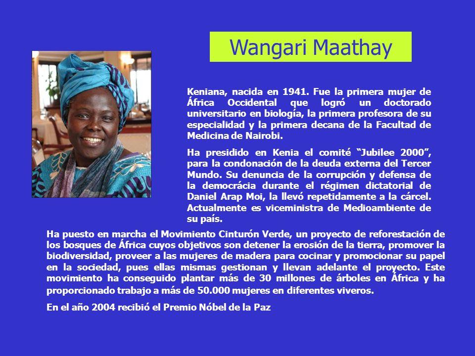 Wangari Maathay