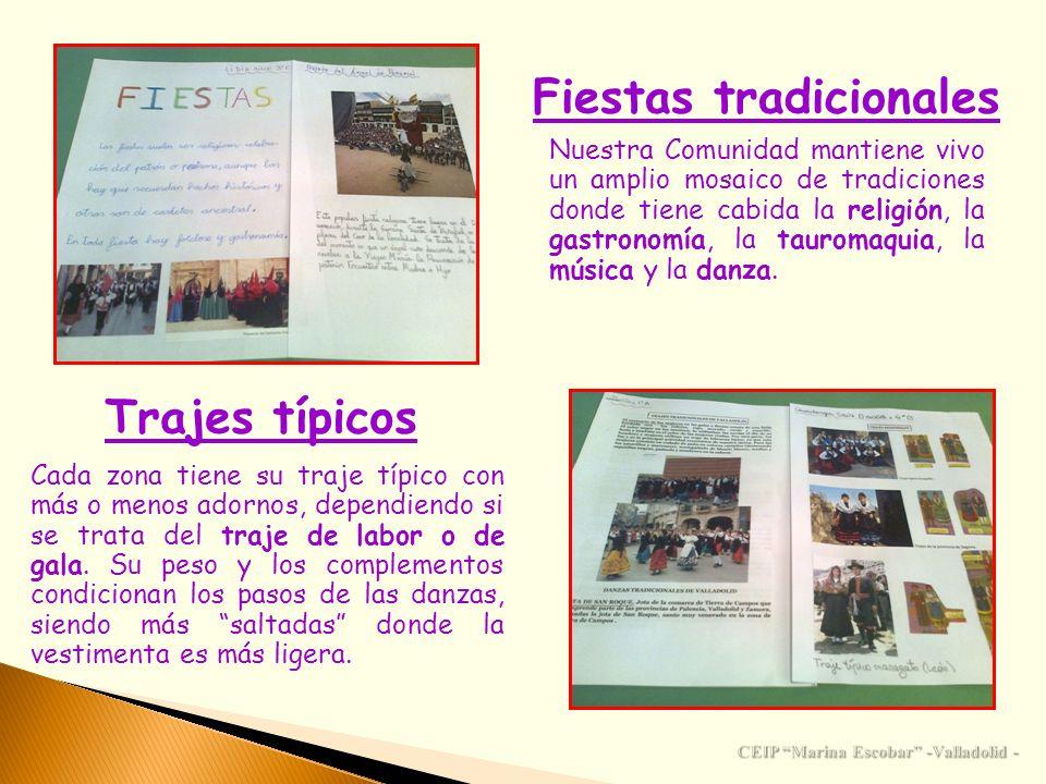 Fiestas tradicionales CEIP Marina Escobar -Valladolid -