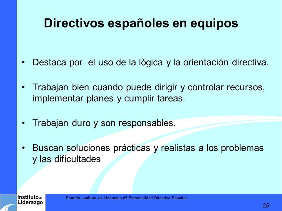 Directivos españoles en equipos