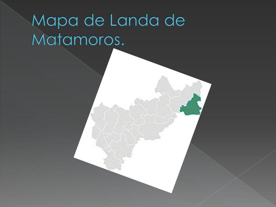 Mapa de Landa de Matamoros.