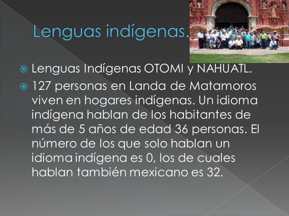 Lenguas indígenas. Lenguas Indígenas OTOMI y NAHUATL.
