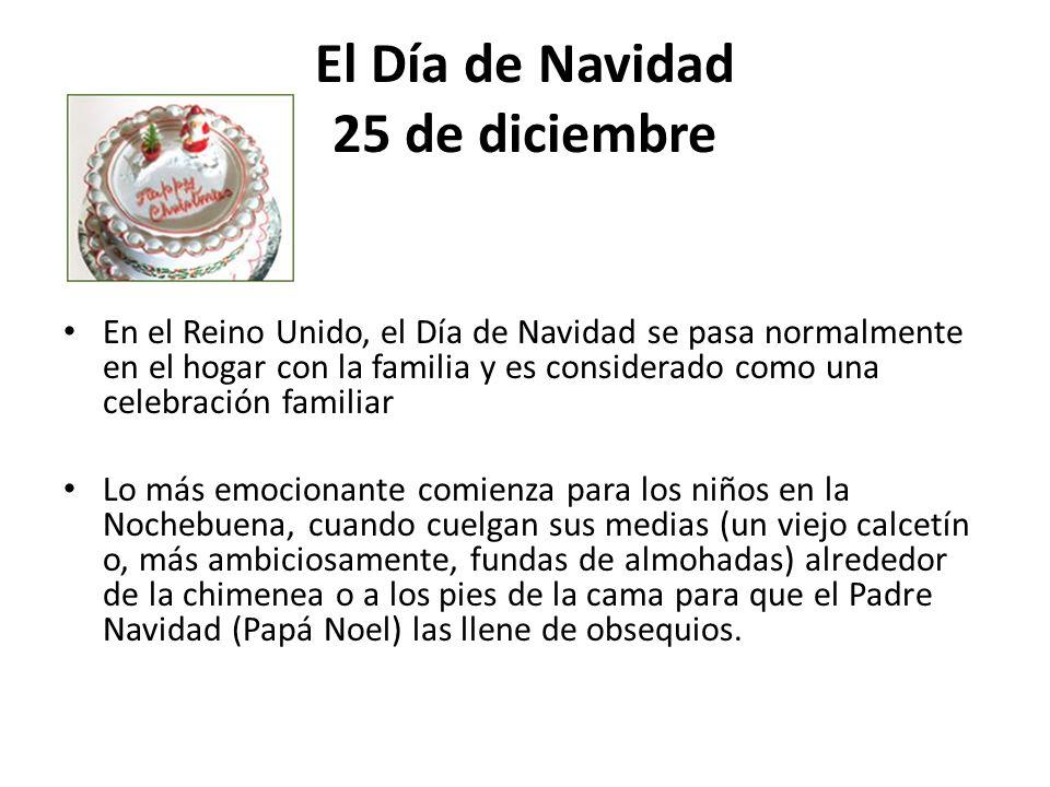 El Día de Navidad 25 de diciembre