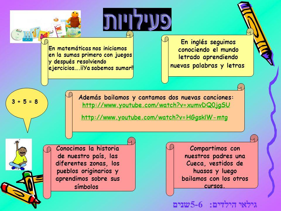 En matemáticas nos iniciamos en la sumas primero con juegos y después resolviendo ejercicios….¡¡Ya sabemos sumar!!