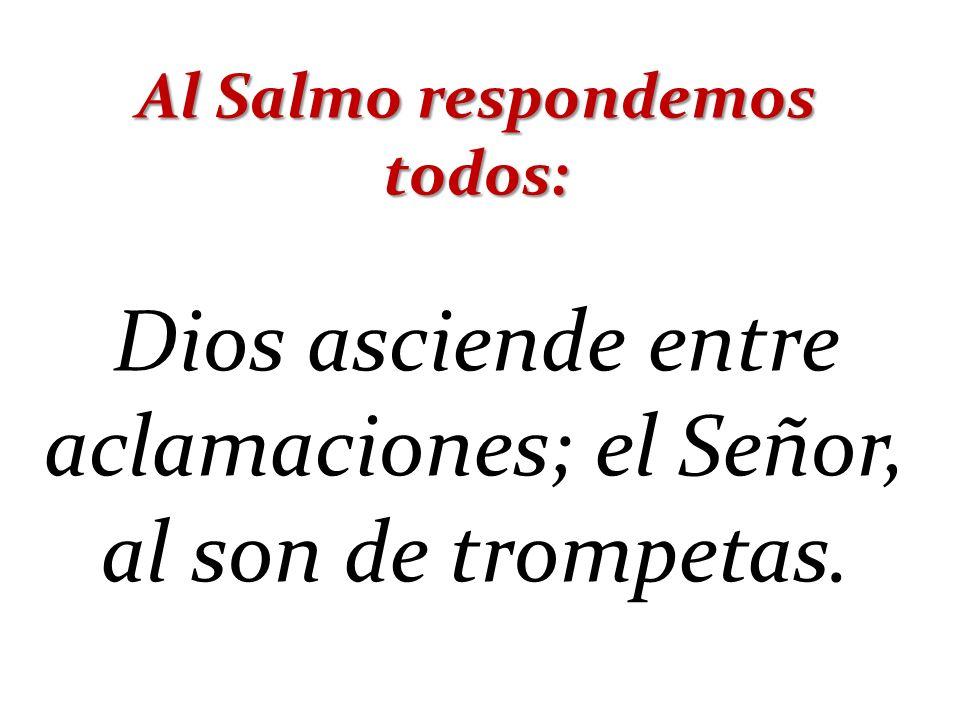 Al Salmo respondemos todos: