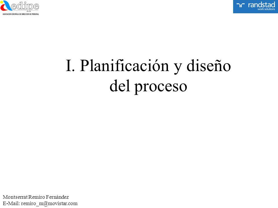 I. Planificación y diseño del proceso