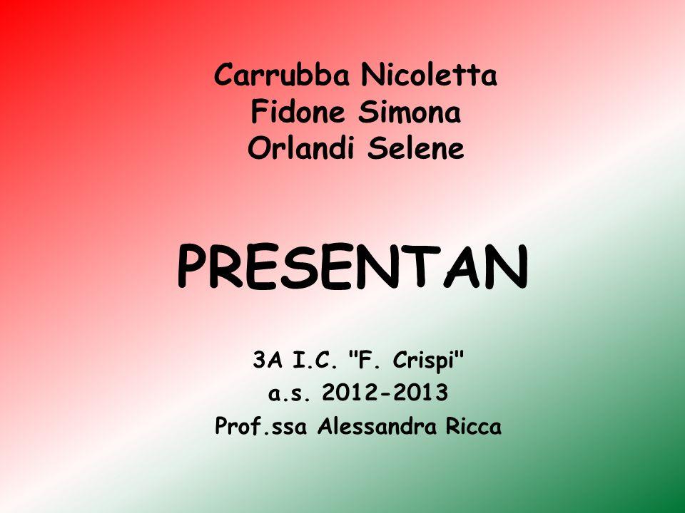 Carrubba Nicoletta Fidone Simona Orlandi Selene
