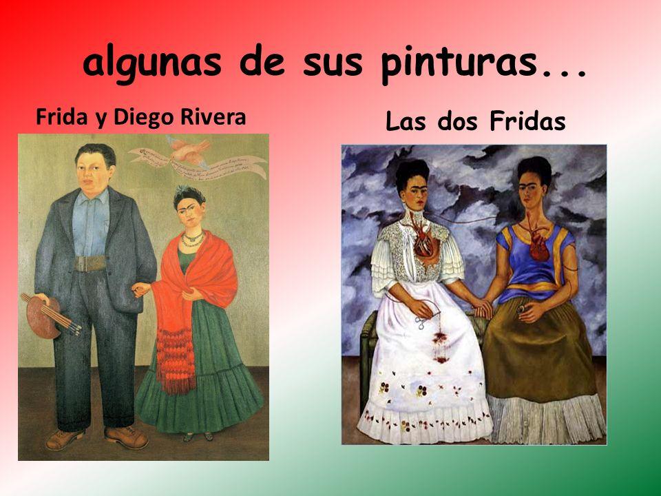 algunas de sus pinturas...