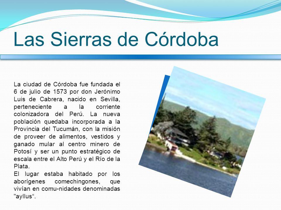 Las Sierras de Córdoba