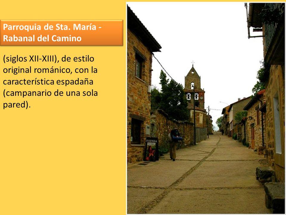 Parroquia de Sta. María - Rabanal del Camino