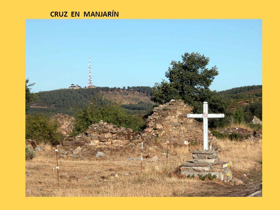 CRUZ EN MANJARÍN