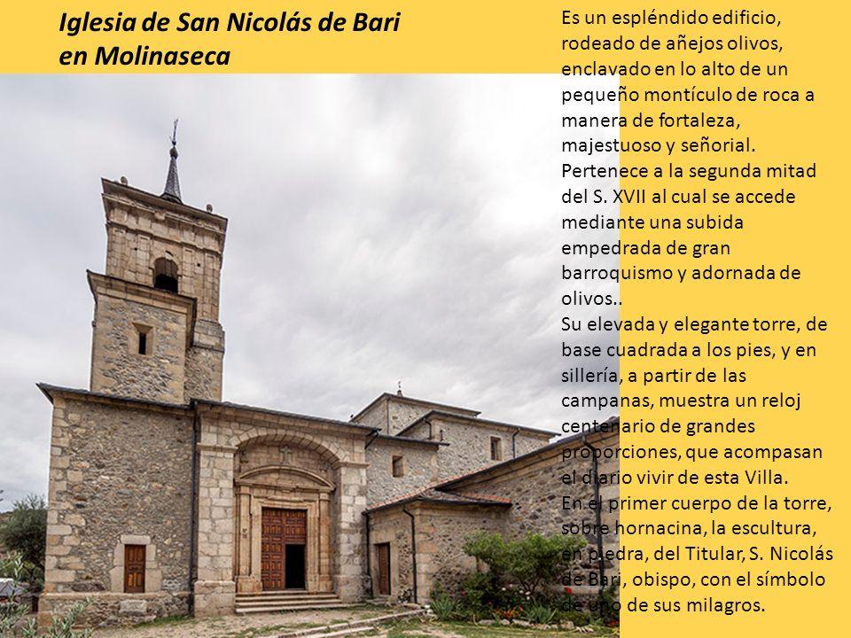 Iglesia de San Nicolás de Bari en Molinaseca