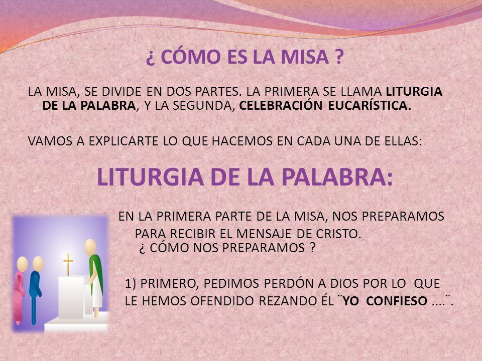 LITURGIA DE LA PALABRA: