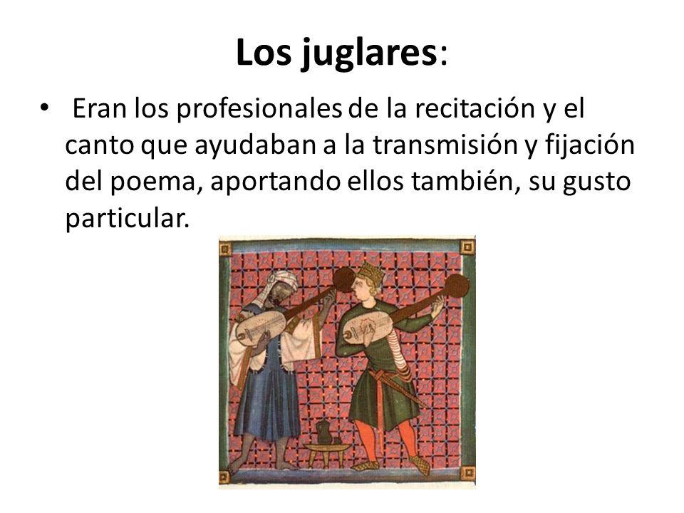 Los juglares: