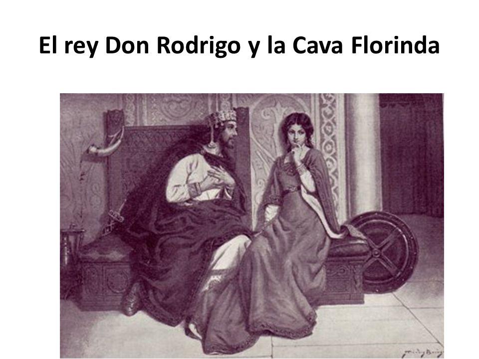 El rey Don Rodrigo y la Cava Florinda