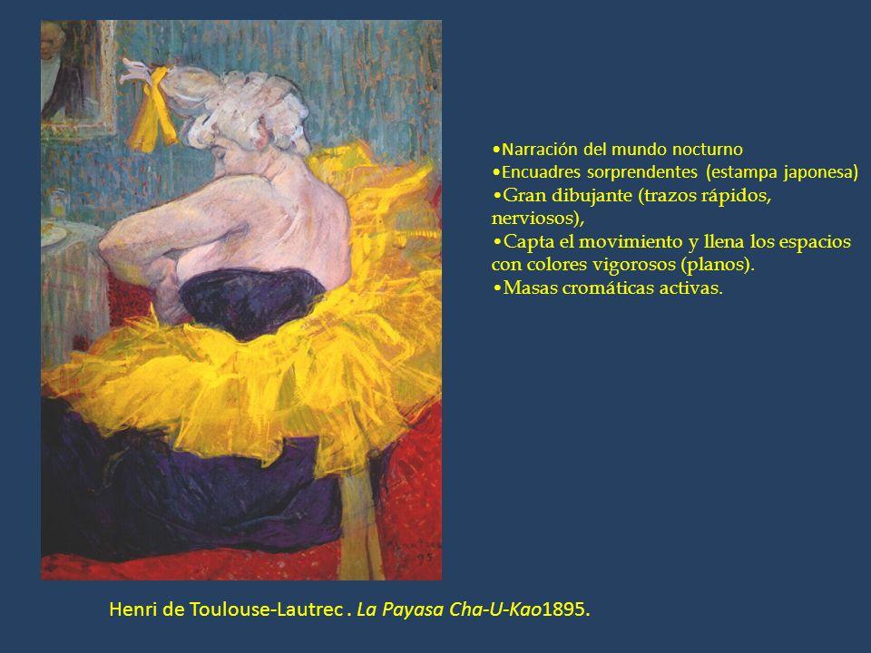 Henri de Toulouse-Lautrec . La Payasa Cha-U-Kao1895.