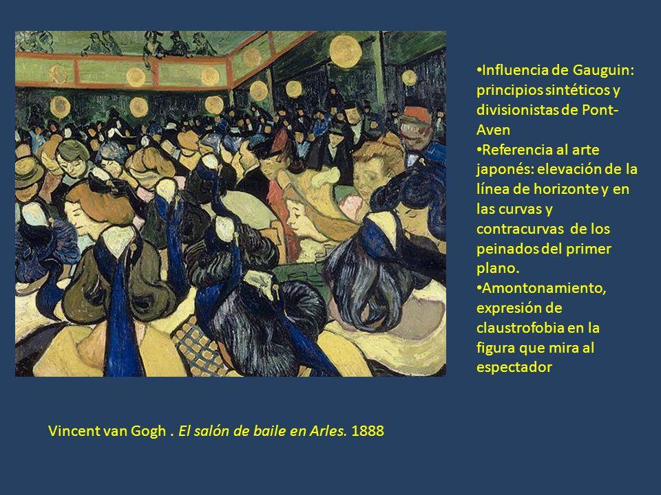 Influencia de Gauguin: principios sintéticos y divisionistas de Pont-Aven