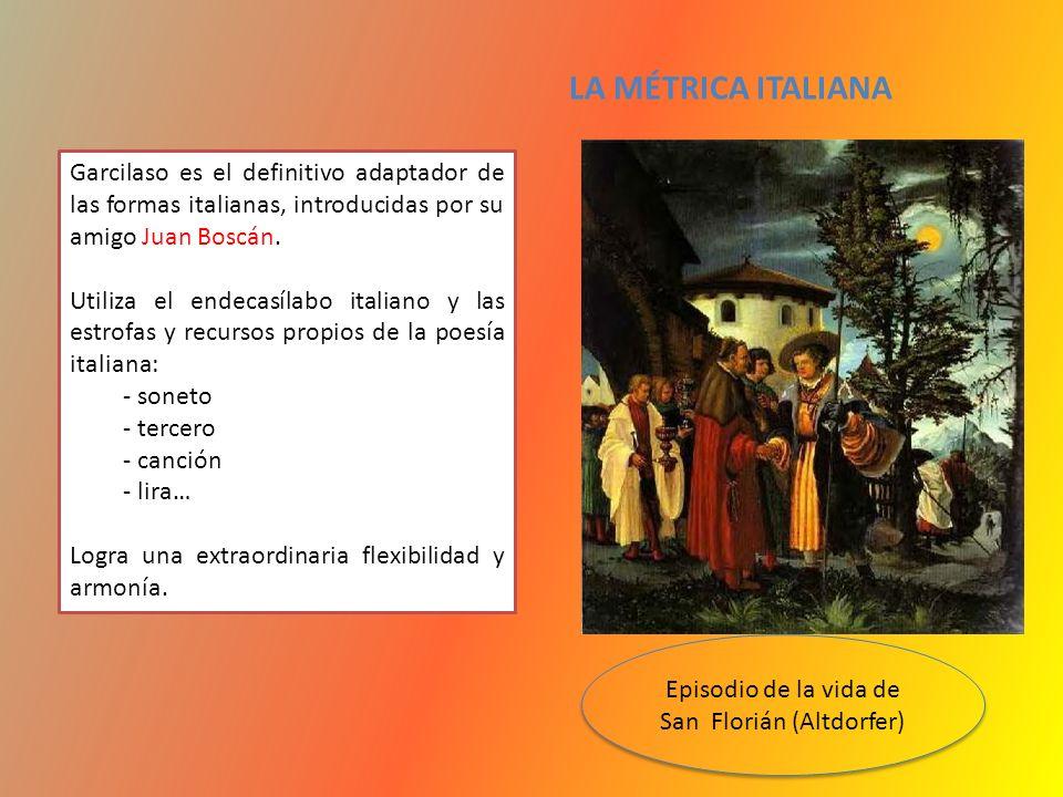 Episodio de la vida de San Florián (Altdorfer)