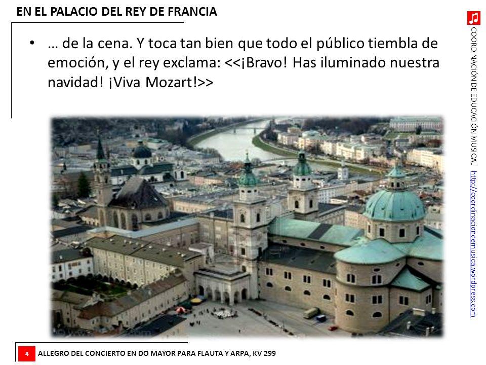 EN EL PALACIO DEL REY DE FRANCIA