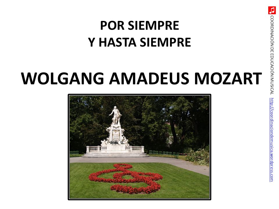 WOLGANG AMADEUS MOZART