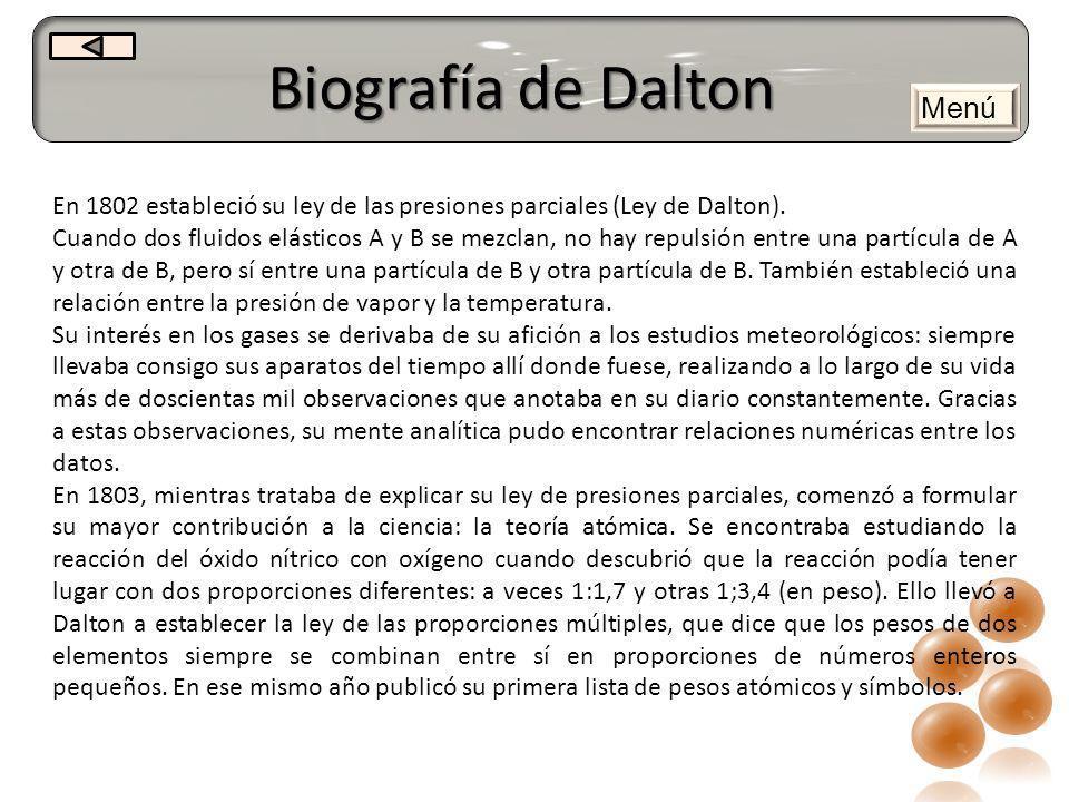 Biografía de Dalton Menú