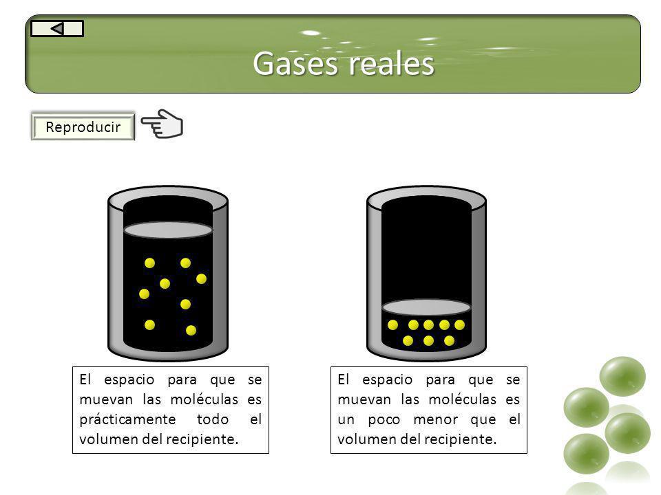 Gases reales Reproducir