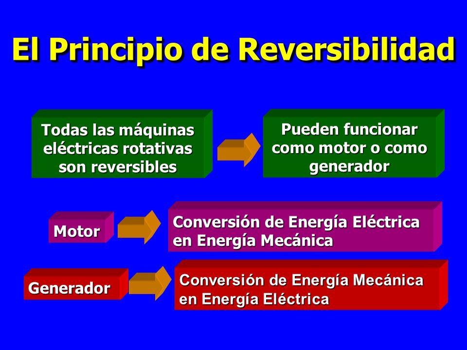 El Principio de Reversibilidad