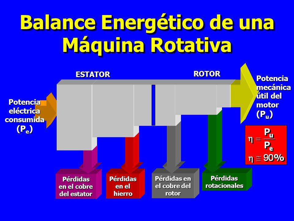 Balance Energético de una Máquina Rotativa