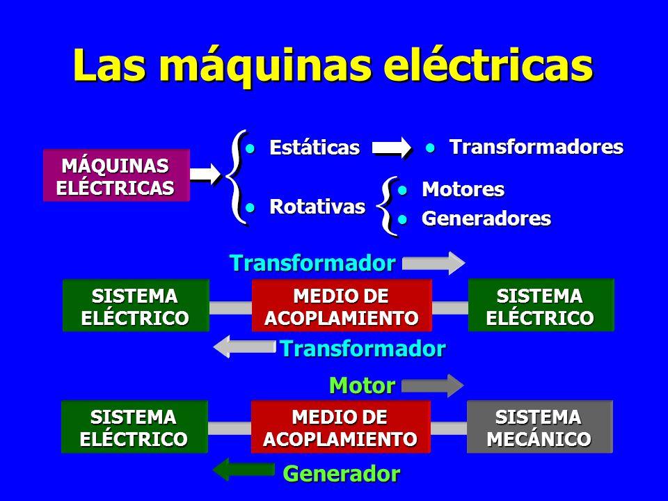 Las máquinas eléctricas