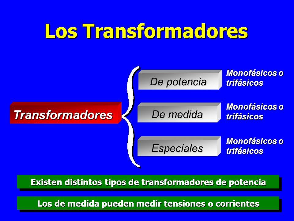Los Transformadores Transformadores De potencia De medida Especiales