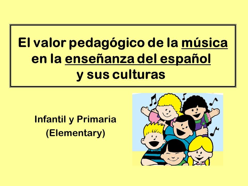 Infantil y Primaria (Elementary)