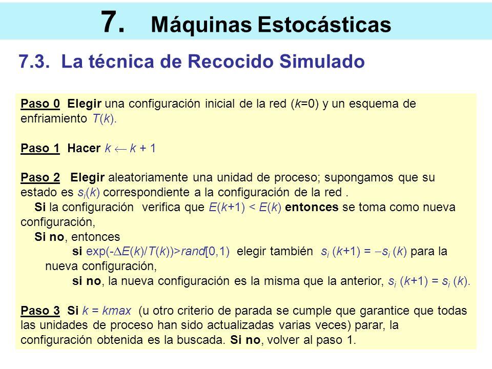 7. Máquinas Estocásticas