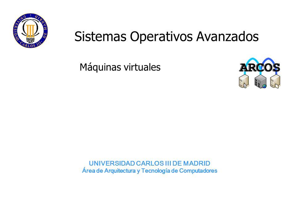 Sistemas Operativos Avanzados