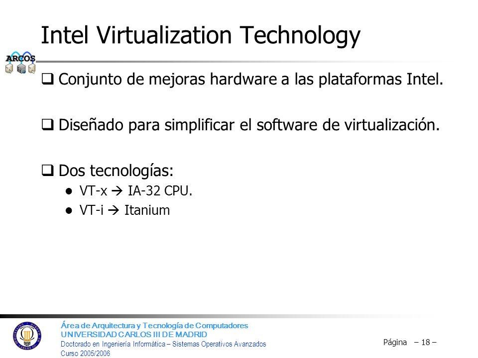 Intel Virtualization Technology