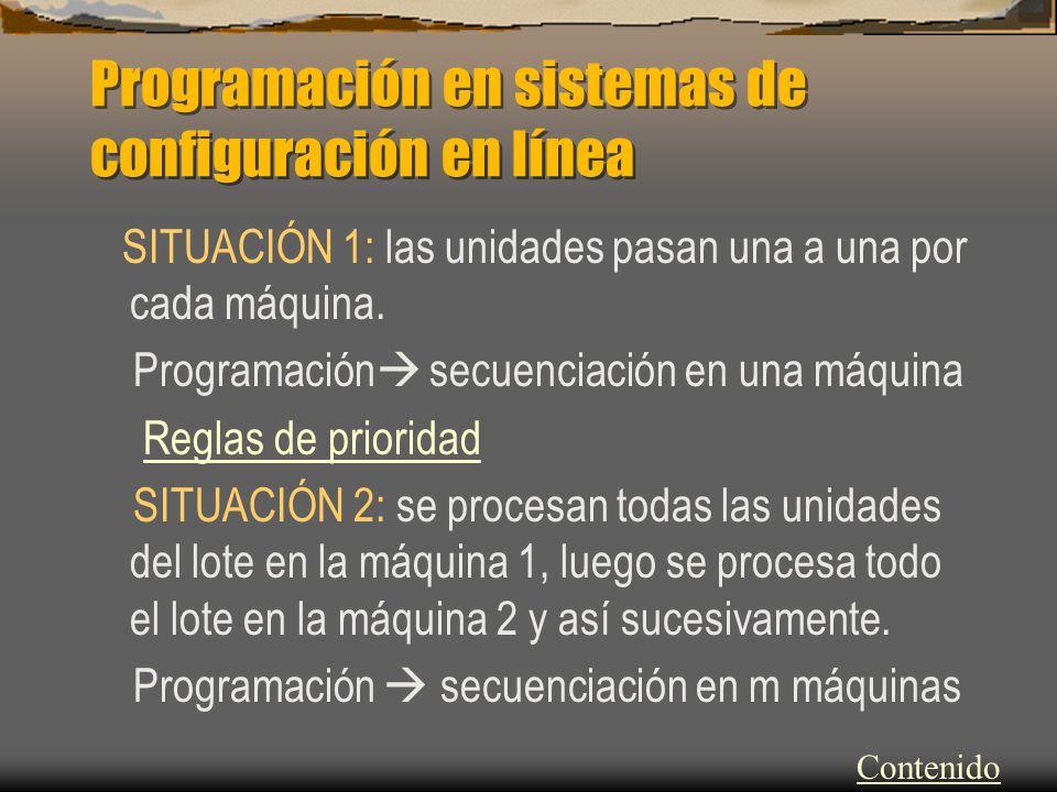 Programación en sistemas de configuración en línea