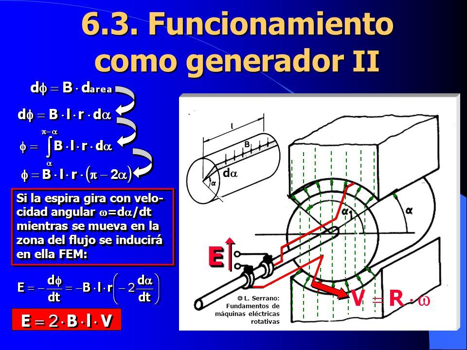6.3. Funcionamiento como generador II