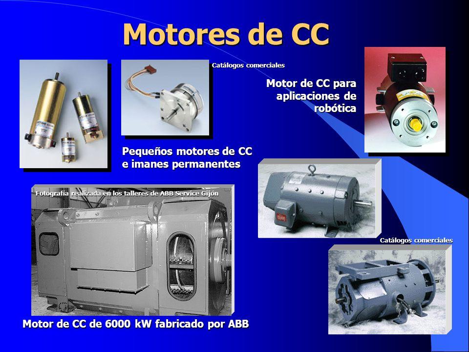 Motor de CC de 6000 kW fabricado por ABB