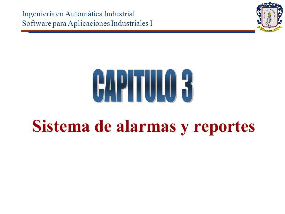 Sistema de alarmas y reportes