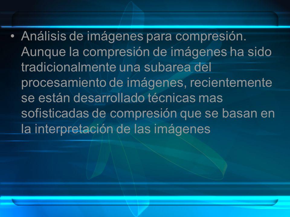 Análisis de imágenes para compresión