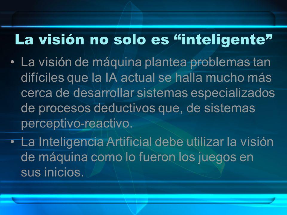 La visión no solo es inteligente